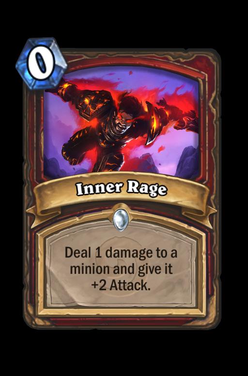 Inner Rage Hearthstone kártya