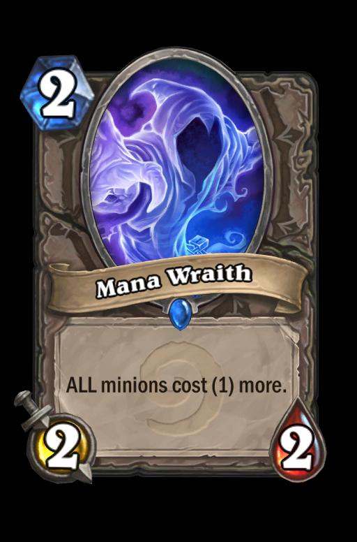 Mana Wraith Hearthstone kártya