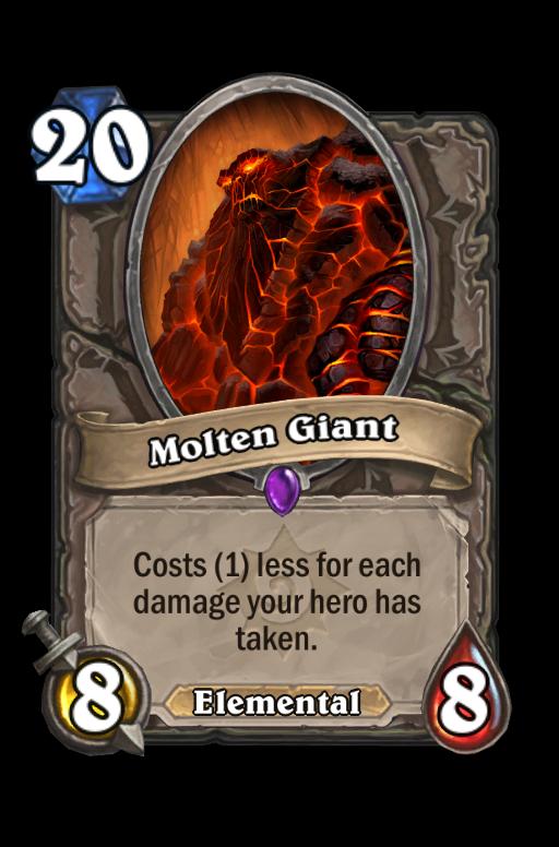Molten Giant Hearthstone kártya
