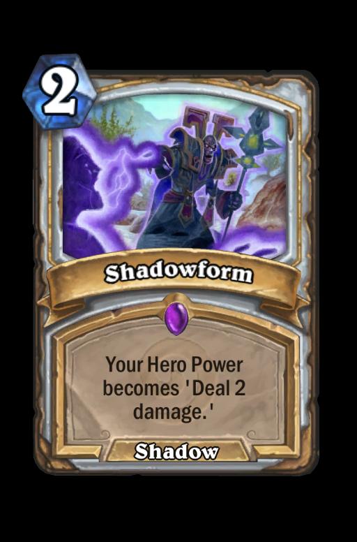 Shadowform Hearthstone kártya