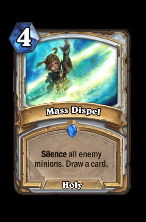 Mass Dispel Hearthstone kártya