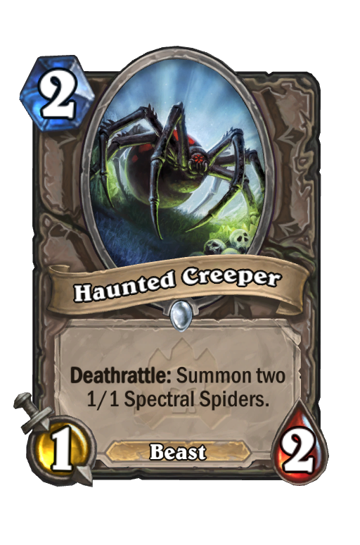 Haunted Creeper Hearthstone kártya