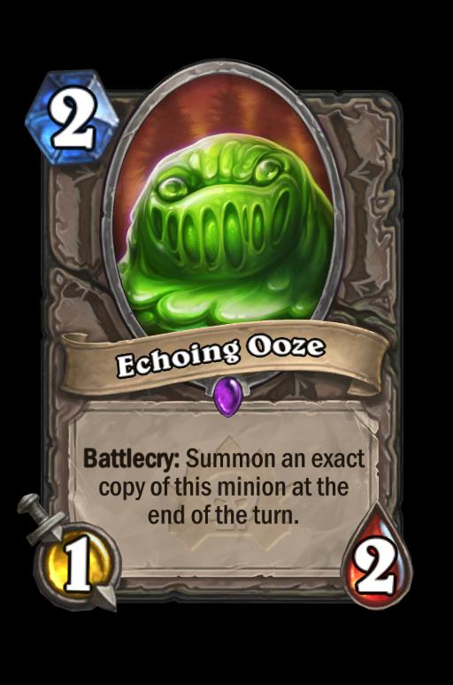 Echoing Ooze Hearthstone kártya