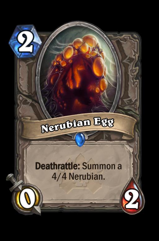 Nerubian Egg Hearthstone kártya