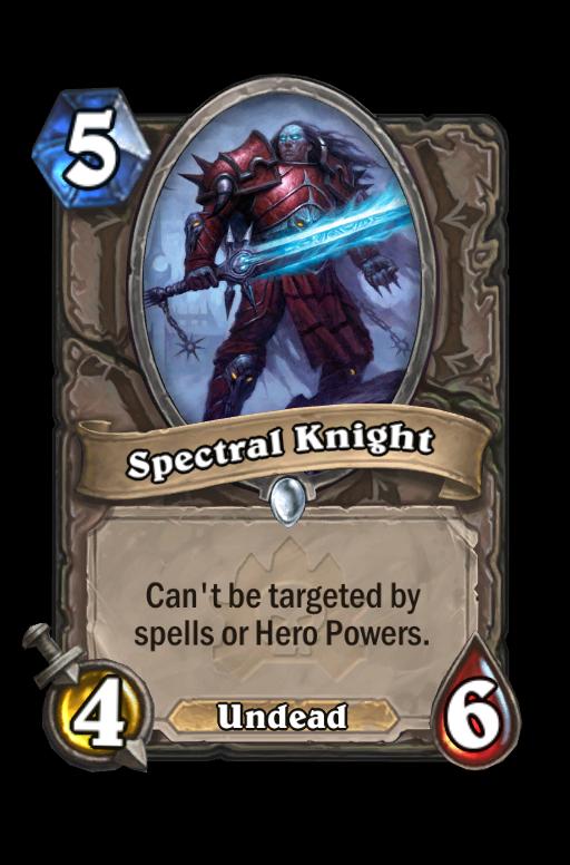 Spectral Knight Hearthstone kártya