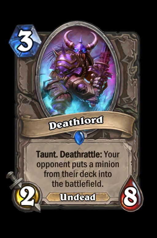 Deathlord Hearthstone kártya