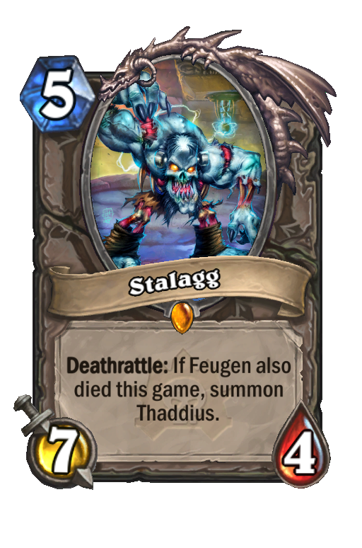 Stalagg Hearthstone kártya
