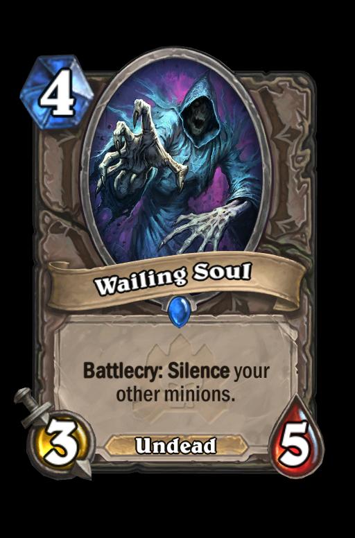 Wailing Soul Hearthstone kártya