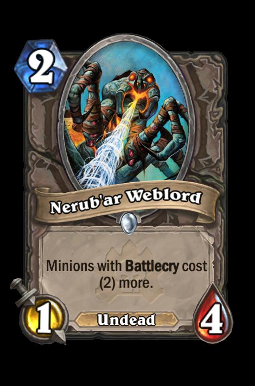 Nerub'ar Weblord Hearthstone kártya