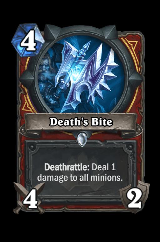 Death's Bite Hearthstone kártya