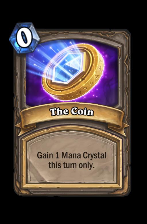The Coin Hearthstone kártya