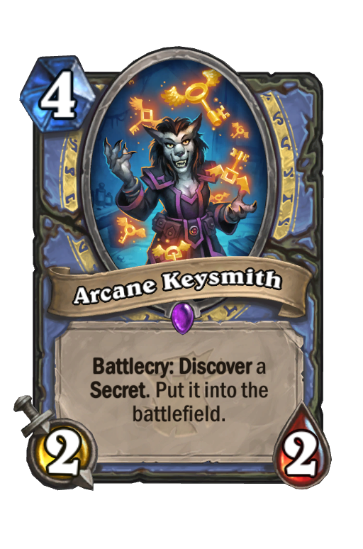 Arcane Keysmith Hearthstone kártya