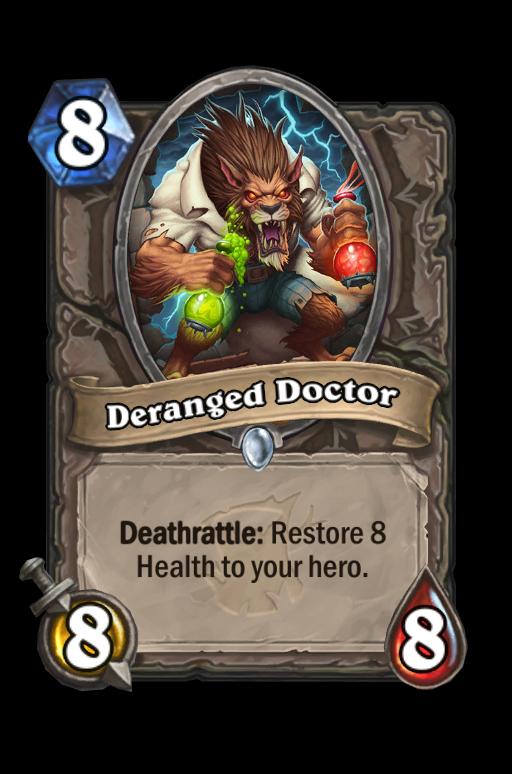 Deranged Doctor Hearthstone kártya