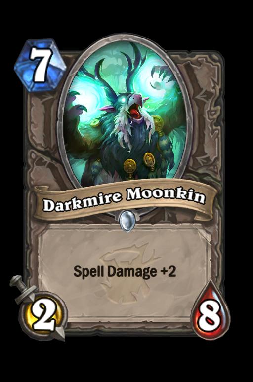 Darkmire Moonkin Hearthstone kártya