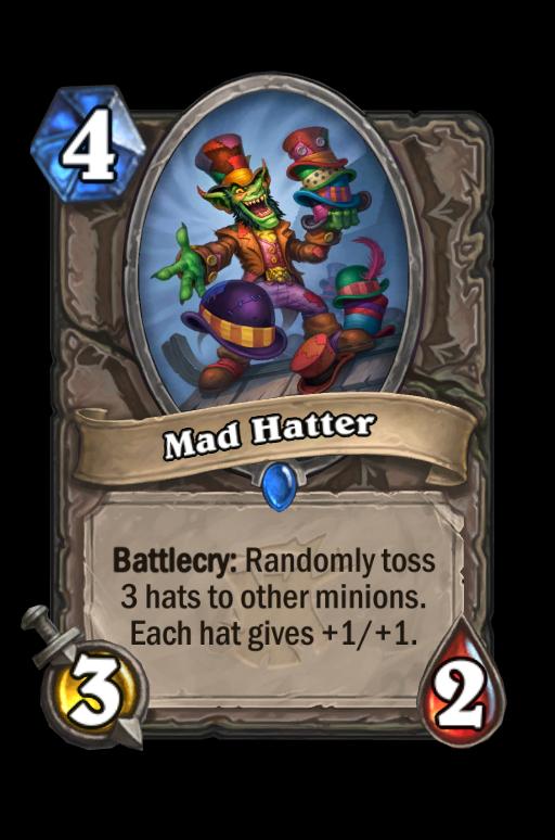 Mad Hatter Hearthstone kártya
