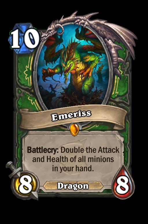Emeriss Hearthstone kártya