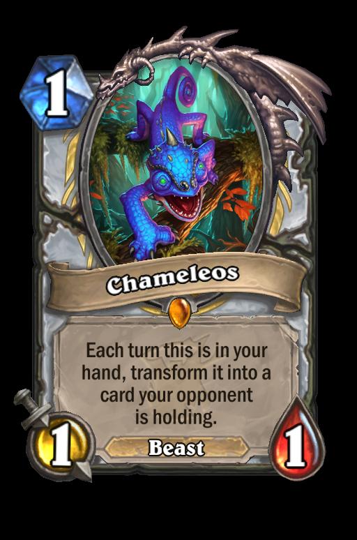 Chameleos Hearthstone kártya