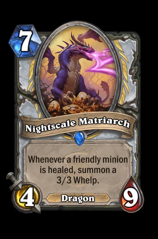 Nightscale Matriarch Hearthstone kártya