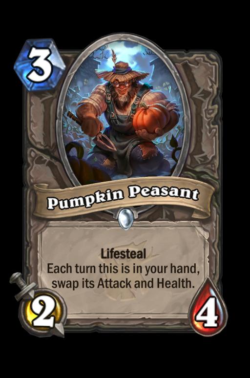Pumpkin Peasant Hearthstone kártya