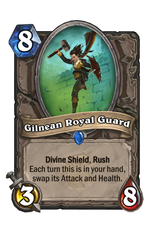 Gilnean Royal Guard Hearthstone kártya