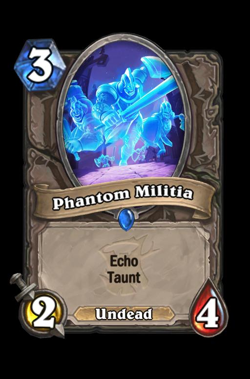 Phantom Militia Hearthstone kártya