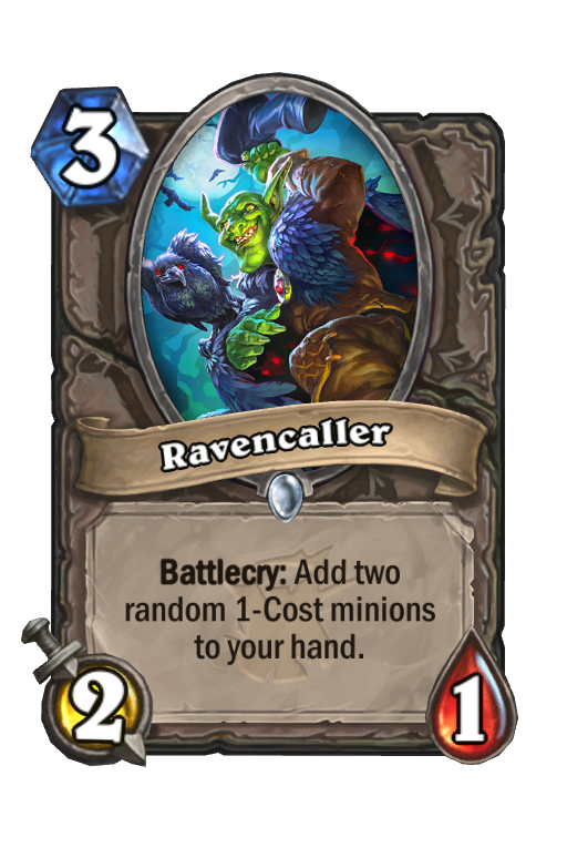 Ravencaller Hearthstone kártya