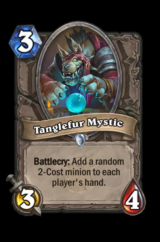 Tanglefur Mystic Hearthstone kártya