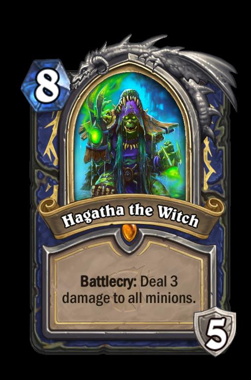 Hagatha the Witch Hearthstone kártya