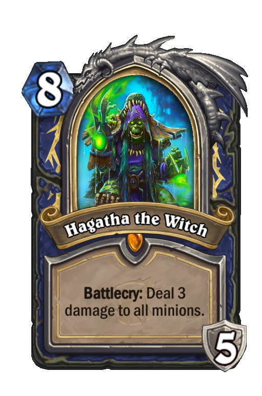 Hagatha the Witch Hearthstone kártya
