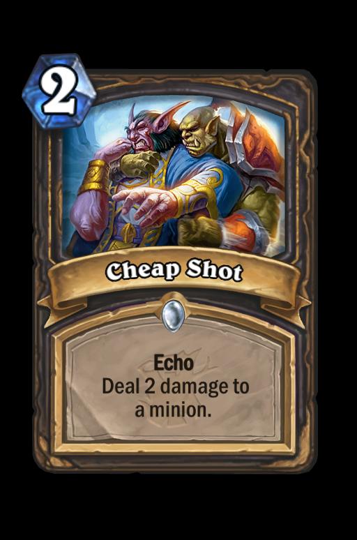 Cheap Shot Hearthstone kártya