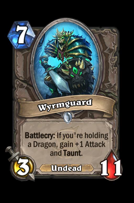 Wyrmguard Hearthstone kártya