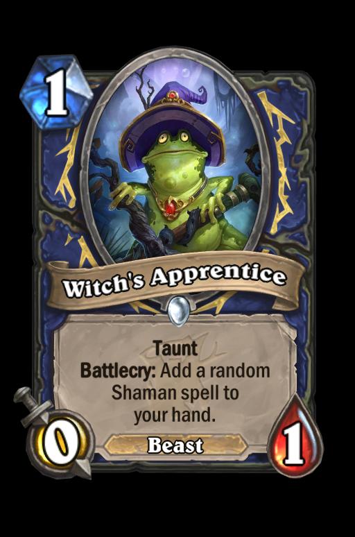 Witch's Apprentice Hearthstone kártya