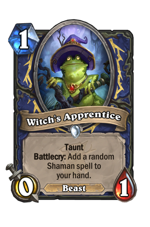 Witch's Apprentice Hearthstone kártya