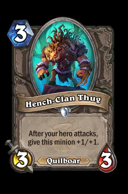 Hench-Clan Thug Hearthstone kártya