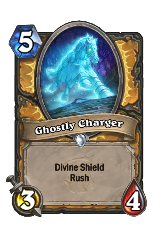 Ghostly Charger Hearthstone kártya