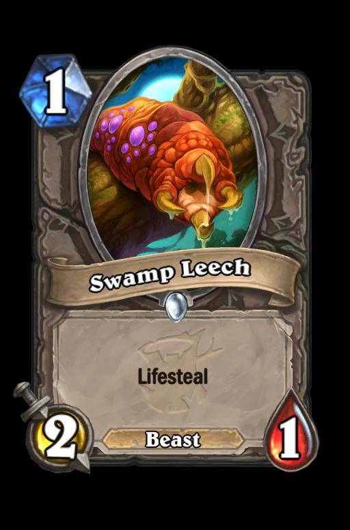 Swamp Leech Hearthstone kártya