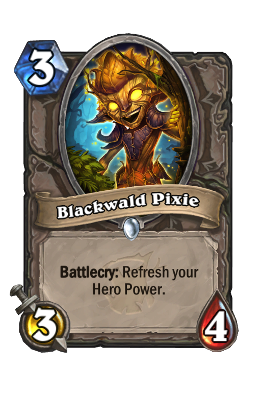 Blackwald Pixie Hearthstone kártya