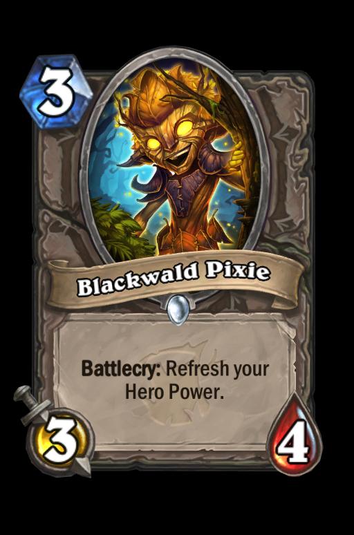 Blackwald Pixie Hearthstone kártya