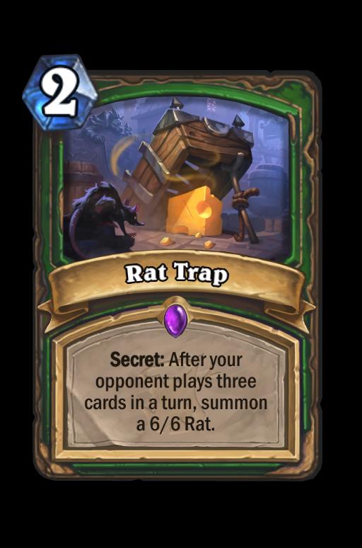 Rat Trap Hearthstone kártya