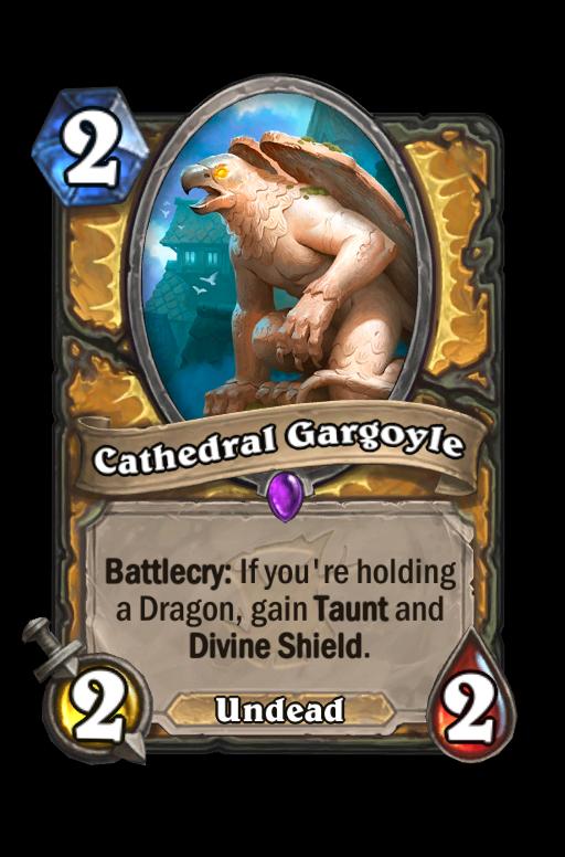 Cathedral Gargoyle Hearthstone kártya