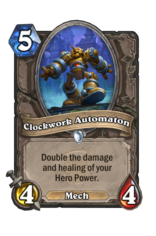Clockwork Automaton Hearthstone kártya