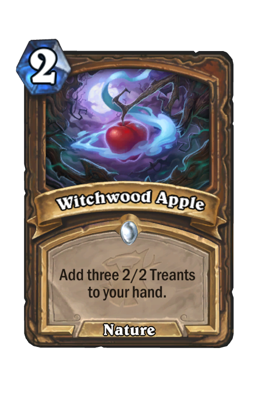 Witchwood Apple Hearthstone kártya