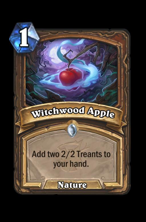 Witchwood Apple Hearthstone kártya
