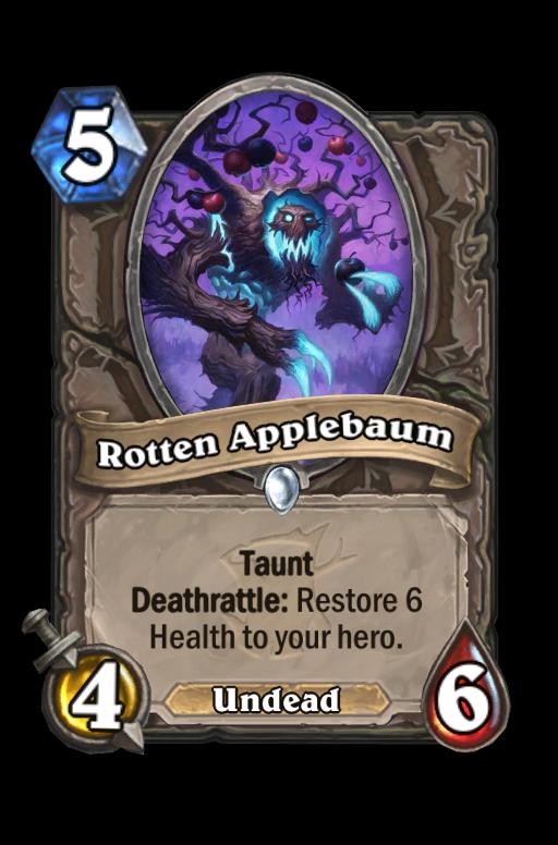 Rotten Applebaum Hearthstone kártya