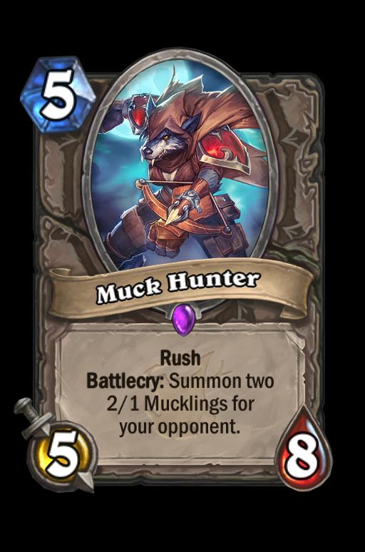 Muck Hunter Hearthstone kártya