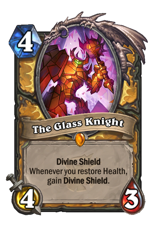 The Glass Knight Hearthstone kártya