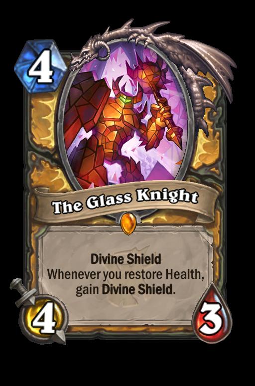 The Glass Knight Hearthstone kártya