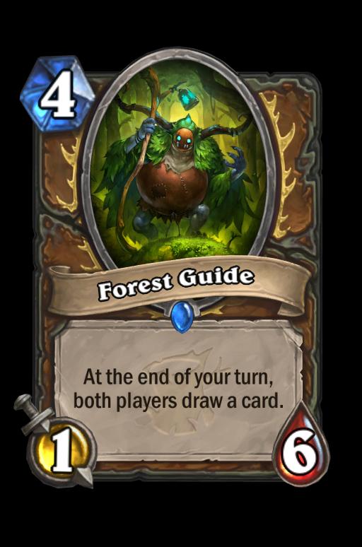Forest Guide Hearthstone kártya