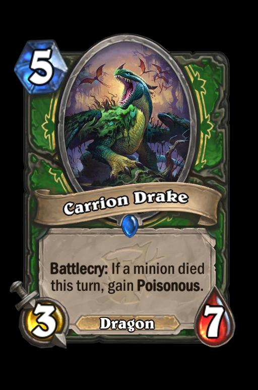 Carrion Drake Hearthstone kártya