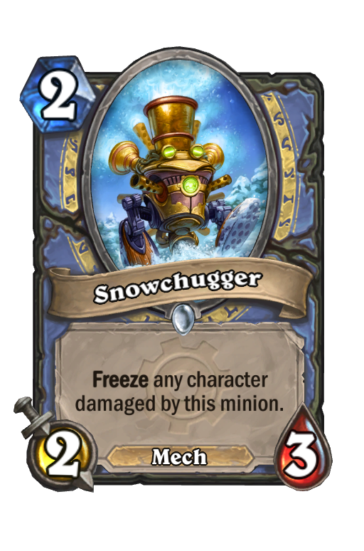 Snowchugger Hearthstone kártya